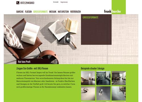 Responsive Website Fliesenbarche