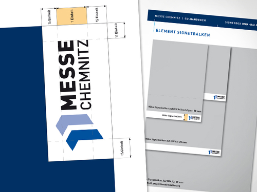 Corporate Design Messe Chemnitz