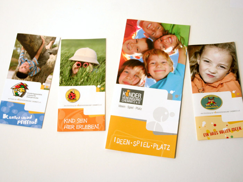 Corporate Design Kindervereinigung Chemnitz e.V.