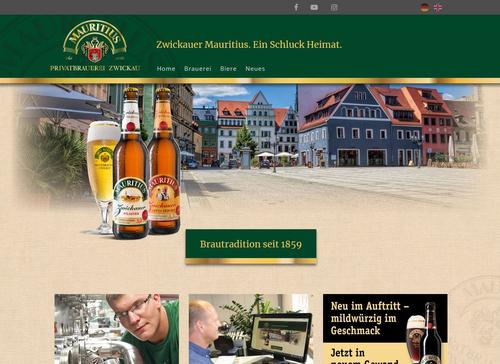Website Mauritius Privatbrauerei