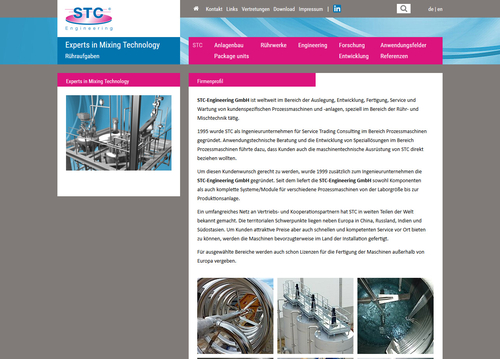 Website STC-Engineering