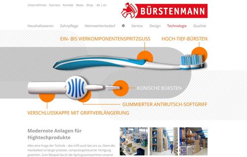 Website Bürstenmann GmbH