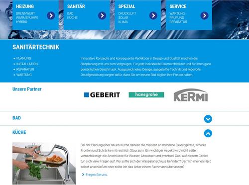 Website Gundelfinger GmbH
