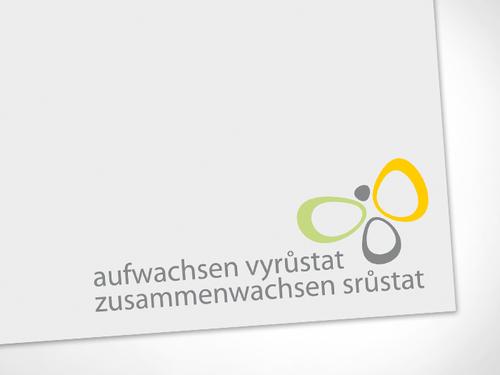 """Corporate Design Projekt """"Aufwachsen - Zusammenwachsen"""""""