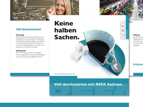 Printmaterial REFA